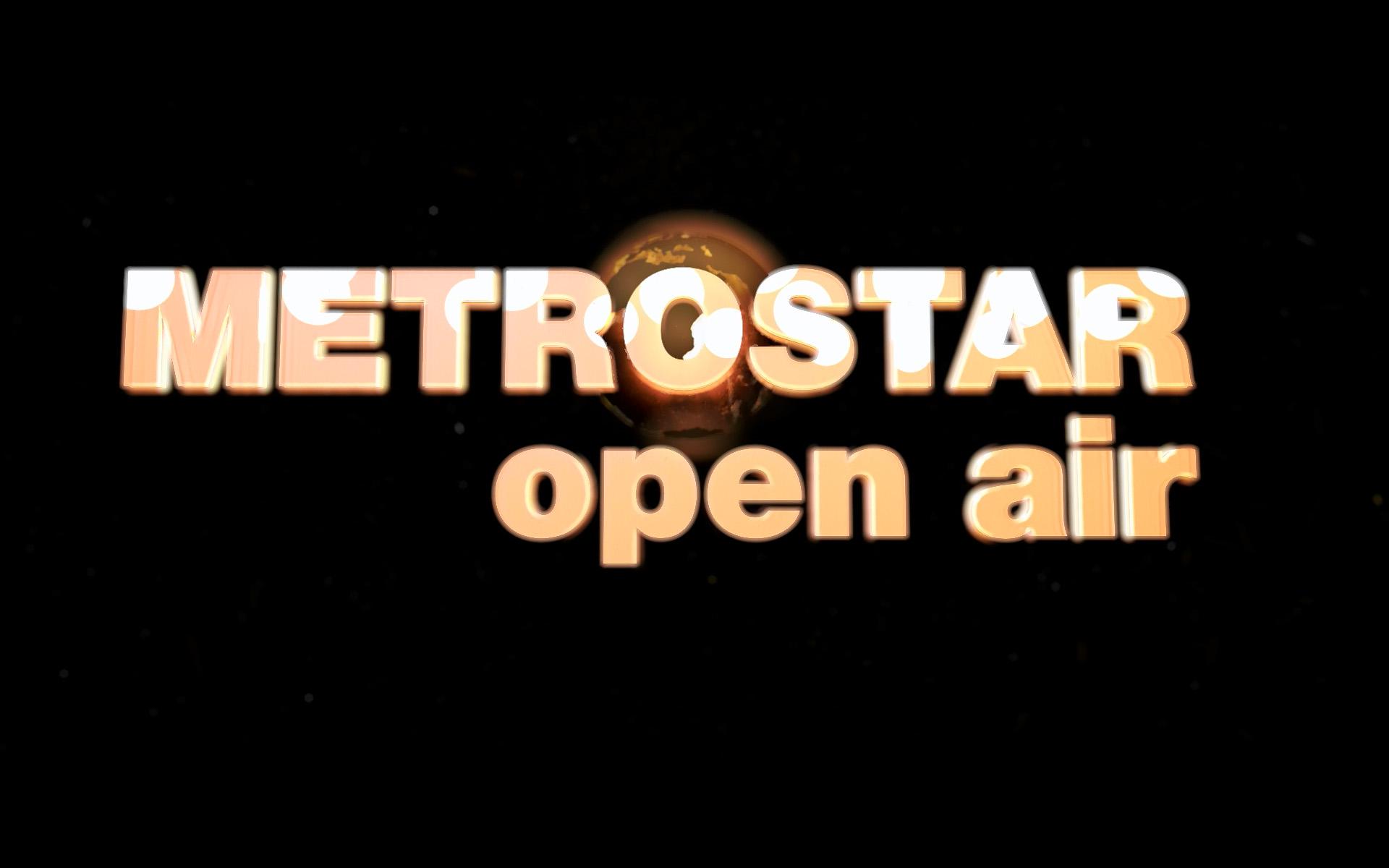 Рекламный графический видеоролик MetroSTAR OPEN AIR