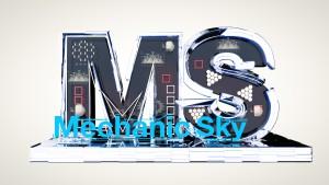 3D заставка Mechanic Sky