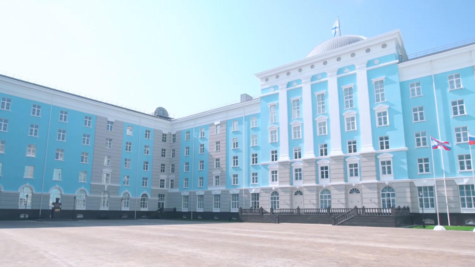 Новое здание Нахимовского училища